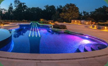 Kurt Custom Pools Pool Lighting Service