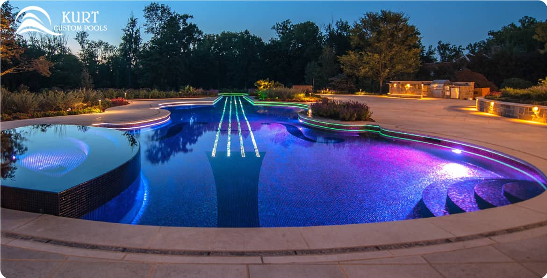 Kurt Custom Pools | Pool Lighting Services